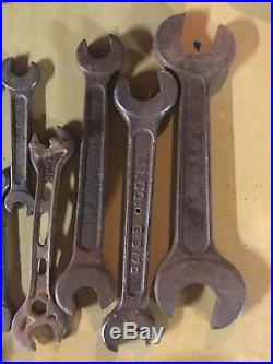 11 piece Vintage IHC International Harvester Wrenches Tools / Farm / Tractor