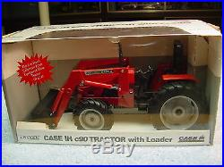 1/16 Case Ih C90 Tractor With 2255 Loader Le 127 Of 200