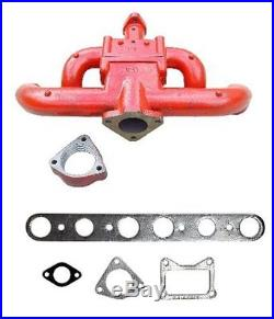 5167D International Harvester F-30 W-30 Tractor Gas Exhaust Manifold With Gasket