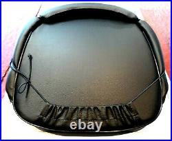 BLACK SEAT CUSHION COMPATIBLE WITH INTERNATIONAL HARVESTER TRACTORS (various)