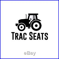 Black International Harvester 784 785 885 Waffle Style Tractor Suspension Seat