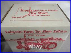 Custom Silver Chrome IH Model 706 Toy Tractor 98 Lafayette Toy Show 1/16 Scale
