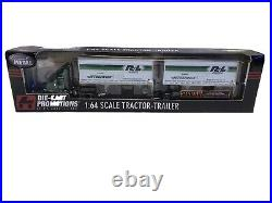 Die-Cast Promotion DCP R&L Carriers International Tractor Trailer with pups 30692