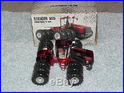 Ertl 1/32 Red Chrome Chase Unit Case Ih Steiger 535 4wd 2010 Farm Show Tractor