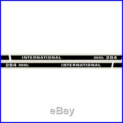 High Quality 284 Diesel International Harvester Farmall Tractor Decal Kit