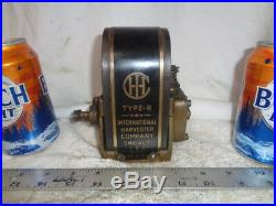 IHC brass R magneto rare International Harvester for Hit Miss Gas Engine Tractor