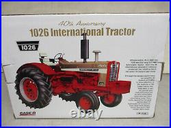 IH 1026 Gold Demonstrator Toy Tractor 40th Anniversary Edition 1/16 Scale, NIB
