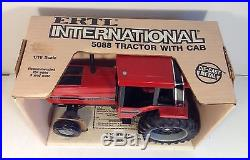 IH International Harvester 5088 Tractor with Cab DieCast ERTL 1/16 Hard to Find