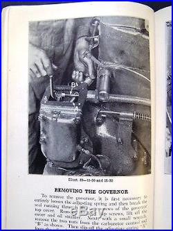 International Harvester 10-20 and 15-30 Tractors Overhauling Service Manual