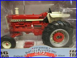International Harvester 1206 Toy Tractor 2012 Red Power 1/16 Scale NIB