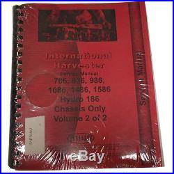 International Harvester 1486 Tractor Chassis Only Service Manual