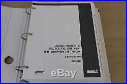 International Harvester Case Chassis 786 986 1086 1486 Hydro 186 Tractors Manual