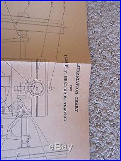 International Harvester Co Instruction Book Manual 15-30 Gear Drive Tractors Old