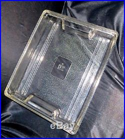 International Harvester GLASS LOGO Frige DISH 12x15 MEAT or Tractor Drip Tray