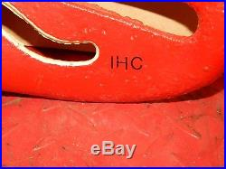 International Harvester Vintage Iron Tractor Implement Seat Farm Collectables