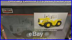 NEW! 1/16 IH International Harvester 4100 4wd tractor with cab, Spec Cast, nice