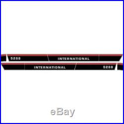 New 5288 With Cab International Harvester Farmall Tractor Hood Decal Kit Quality