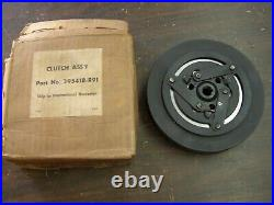 NOS OEM IH International Harvester Tractor AC Clutch Truck 2 Groove Pulley