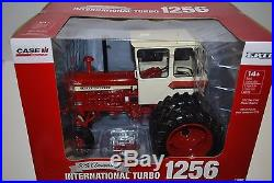 New 1/16 IH International Harvester 1256 tractor with cab & duals, 50th ann