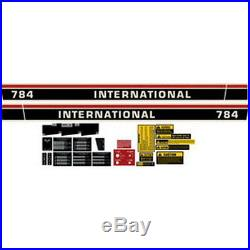 New 784 International Harvester Farmall Tractor Complete Decal Kit High Quality