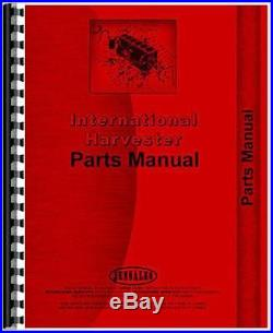 New International Harvester 55 DISK Tractor Parts Manual