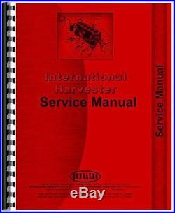 New International Harvester 585 Tractor Service Manual (Chassis Only)