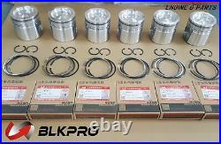 Piston and Piston Ring Sets For ISB QSB 6.7L Cummins 24V CASE 4934860 4955160