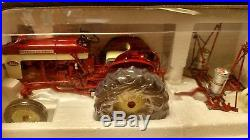 Toy international harvester tractor and planter