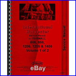 Tractor Manual Kit For Case IH International Harvester Tractor H-65 1456
