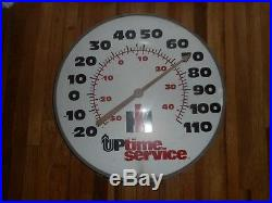 Vintage IH International Harvester Farm Tractor Machinery GLASS THERMOMETER