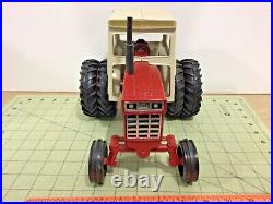 Vintage repainted 1/16 scale International Turbo 1466 tractor FREE ship